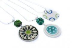 Porcelain Jewellery by Iris Dorton