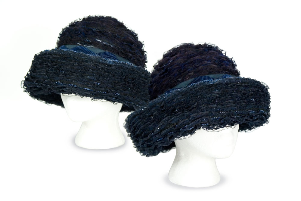 Black Lace Hat by Marsha McIsaac