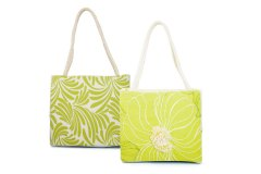 Green Flower Purse by Marsha McIsaac