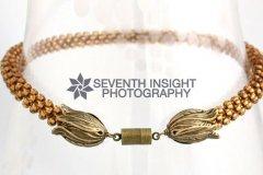 Michelle Prosek Golden Necklace