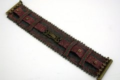 Hand Beaded Bracelet by Rose Savage Ouellette