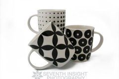 Coffee Mug Trio 1